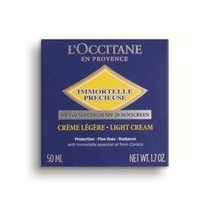 L'Occitane Immortelle Precious Cream SPF 20